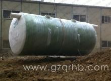 75m³玻璃钢化粪池安装现场